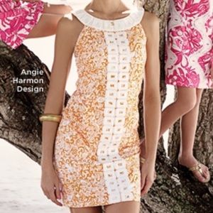 Lilly Pulitzer Jubilee Angie Harmon shift dress
